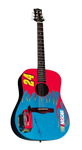 Silvertone NASCAR Jeff Gordon Acoustic Guitar