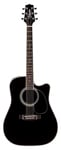 Takamine EF341SC Cutaway Acoustic Electric Guitar with Case