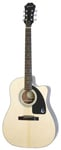 Epiphone AJ100CE Jumbo Acoustic Electric Guitar Natural