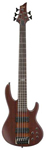 ESP LTD D5 5 String Electric Bass Guitar Natural Satin
