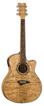 Dean Exotica Quilt Ash Acoustic Electric Guitar