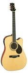 Silvertone SD50CE Cutaway Acoustic Electric Guitar
