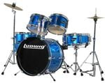 Ludwig Junior 5 Piece Drum Set with Cymbals