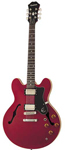 Epiphone Dot Archtop Semi Hollowbody Electric Guitar Cherry With Case