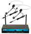 Gemini UHF216HL Dual Headset and Lapel Wireless System