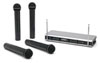 Samson Stage v466 Quad Handheld Wireless Microphone System