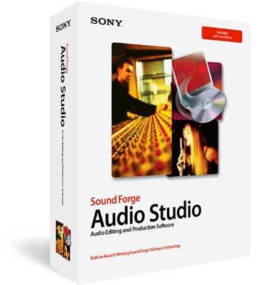 Sony Sound Forge Audio Studio Recording Software Windows