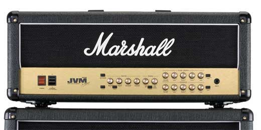 Marshall JVM205H 50 Watt Guitar Amplifier Head