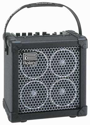Roland Micro Cube RX Battery Powered Modeling Guitar Amp
