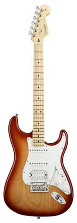 Fender American Standard Stratocaster HSS Electric Guitar with Case
