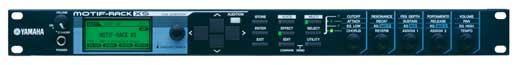 Yamaha Motif Rack XS Sound Module