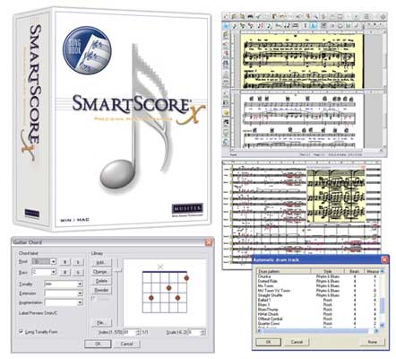 Musitek SmartScore Songbook Edition Notation Software