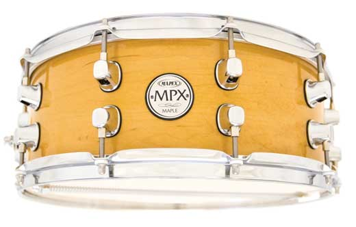 Mapex MPX Maple 13x6 Snare Drum Gloss Natural