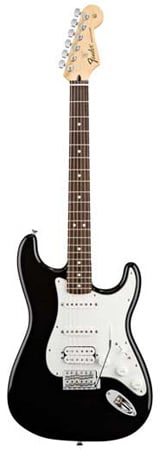 Fender Standard Upgrade HSS Stratocaster Electric Guitar with Gig Bag