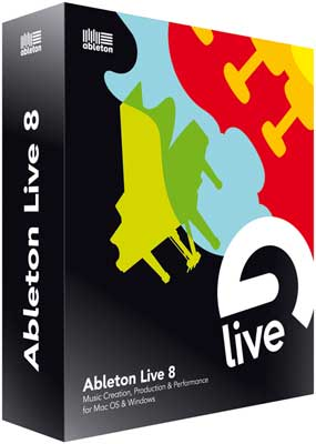 Ableton Live 8 Music Production Software