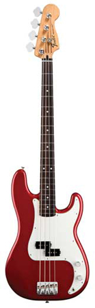Fender Standard Upgrade Precision Electric Bass Guitar with Gig Bag