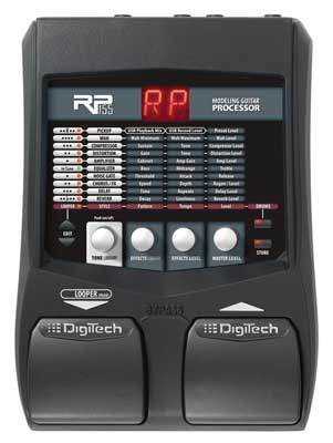 Help DigiTech RP155 Guitar Multi Effects Pedal with USB sale