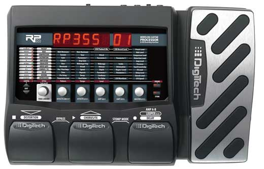DigiTech RP355 Guitar Multi-Effects Pedal with USB