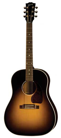 Gibson J45 Standard Acoustic Electric Guitar with Case