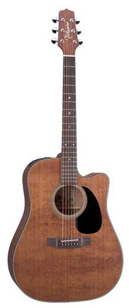 Takamine EF340SCGN Cutaway Acoustic Electric Guitar with Case