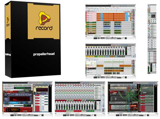 Propellerhead Record DAW Music Production Software