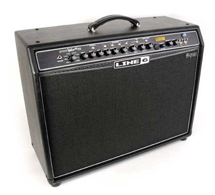 Line 6 Spider Valve MkII 212 Guitar Combo Amplifier;Pure Tube Sound with Advanced Modeling! The best of both worlds, the Spider Valve 212 MkII is a brawny, boutique-style tube amplifier with the most advanced Line 6 amp modeling to date!Providing the most complete flexibility to come from Line 6,this Spider Valve MkII offers deep editing with two output modes; Performance ModeandStudio Mode. Performance Mode provides a direct signal that captures the interaction of tubes and modeling and Studio Mode provides a direct signal that captures modeling only Bass, Mid and Treble knob response inspired by the EQ controls of each modeled amp; Drive knob; Presence knob; Channel volume; Master volume. 50+ Additional FX – FREE! Complete your FX collection with Spider FX Infusion 2.0! Inject over 50 additional effects into your Spider Valve MkII 112 for a grand total of 80+. That's more than any other modeling amplifier! Expressive delays, lush reverbs, creamy distortions and more are yours for the taking. To get Spider FX Infusion 2.0, just connect your Spider Valve MkII 112 to your computer via a Line 6 FBV Express MkII or FBV Shortboard MkII foot controller, or MIDI-USB converter. More information can be found on line6.com. Line 6 Spider Valve MkII 212 Features 40 watts with two 12-inch Celestion Vintage 30 speakers Two 12AX7 preamp tubes; two matched 6L6 power tubes 16 evolved amp models inspired by beloved American, British and European amps The cleanest cleans with searing high-gain distortions Hard-to-find mid-range tones that teeter on the edge of breakup 128 user-programmable presets EQ section inspired by the EQ controls of the original modeled amplifiers 4 channels and 20 Smart FX including Smart Harmony, Pitch Glide,Auto-Wah 14-second Quick Loop, beautiful Delays, tangy Mods, lush Reverbs & more Activate 4 effects at once and tweak up to six parameters of any effect Selectable routing ofeffects, pre or post Seamless MIDI integration Built-in Chromatic Tuner Includes 