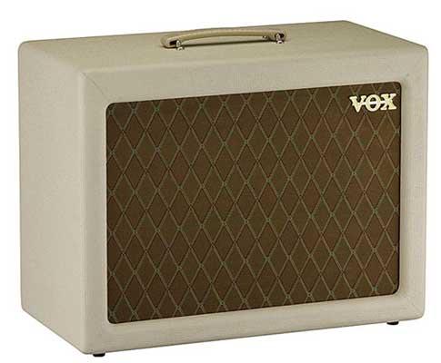 Vox V112TV Guitar Amplifier Extension Cabinet for the ACTV4H