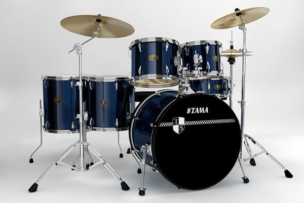 Tama Imperialstar 6-Piece Drum Set with Meinl Cymbals