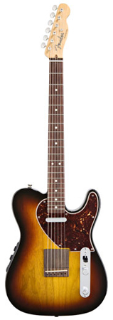 Fender Acoustasonic Telecaster Electric Guitar with Gig Bag