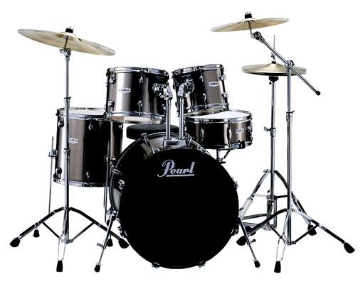 Pearl Forum FZH725B 5 Piece Drum Set