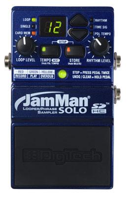 DigiTech JMS JamMan Solo Looper Phrase Sampler