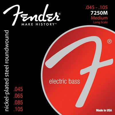 Fender Super Bass 7250s Bass Guitar Strings