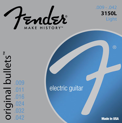 Fender Original Bullets Nickel Wound Electric Guitar Strings