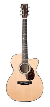 Martin OMC16GTE Acoustic Electric Guitar with Case