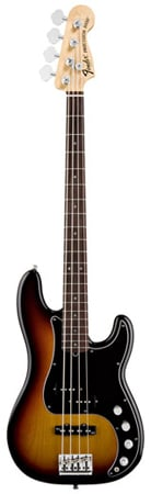 Fender American Deluxe Precision Electric Bass Guitar with Case