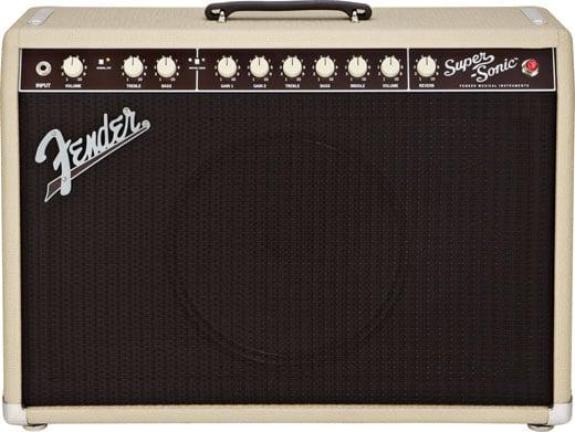 Fender Super Sonic 22 Tube 1x12 Guitar Combo Amplifier Blonde