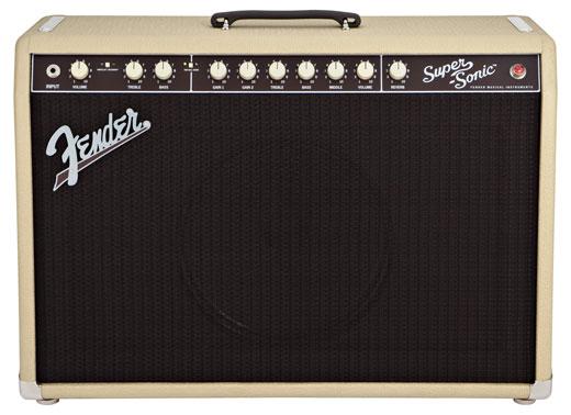 Fender Super Sonic 60 Tube Guitar Combo Amplifier
