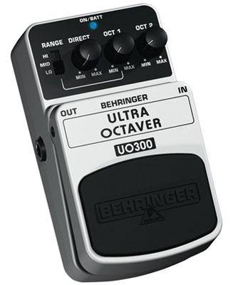 Behringer UO300 Ultra Octaver Octave Guitar Effects Pedal