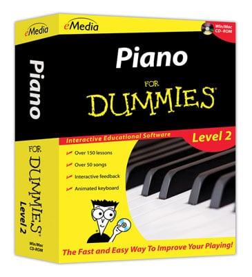 eMedia Piano For Dummies Level 2 Software