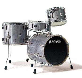 Sonor Safari 4 Piece Mini Drum Shell Kit Drum Set
