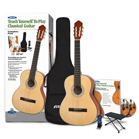 Alfreds Teach Yourself to Play Classical Guitar