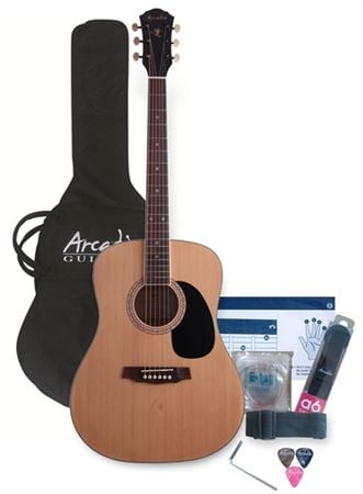 Arcadia DL41 Acoustic Guitar Pack