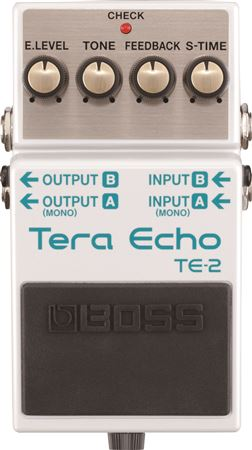 Boss TE2 Tera Echo Guitar Delay Pedal