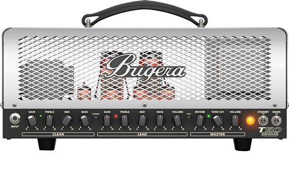 Bugera 50-Watt Cage Style 2-Channel Tube Amp Head w/ Infi