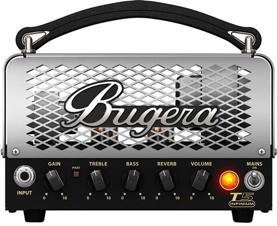 Bugera T5 INFINIUM 5 Watt Cage Style Tube Amplifier Head