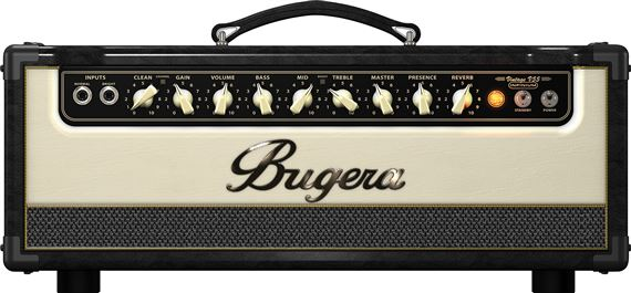Bugera Vintage V55 INFINIUM Guitar Tube Amplifier Head