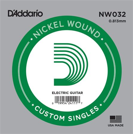 DAddario NW032 Nickel Wound Electric Guitar String