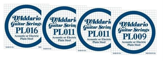 Daddario Electric Solidbody Uke String Set