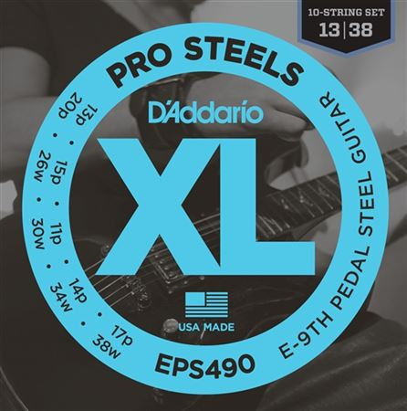DAddario EPS490 XL ProSteels Pedal Steel Strings