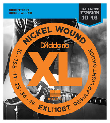 DAddario EXL110BT XL Balanced Tension Nickel Wound Guitar Strings